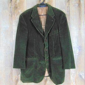 46R Chaps Ralph lauren Olive Green Corduroy Blazer